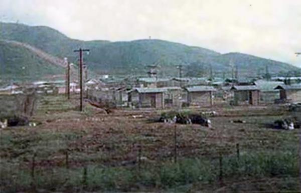 8. Da Nang AB: 366th SPS.POW Camp below Freddom Hill 327. Photo by James W. Gifford Jr., 1968-1969.