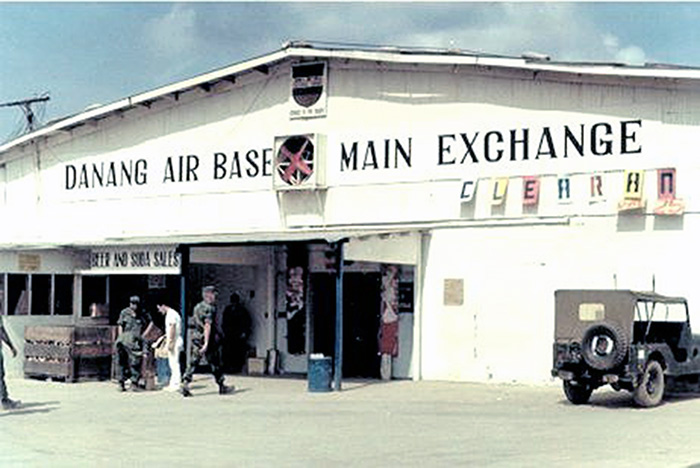 2. Da Nang AB:.Main Exchange. Photo by Vernon Hodge, 1968.