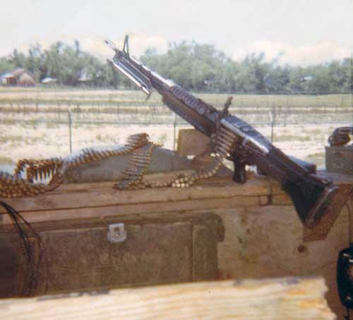8. Da Nang AB, M60 Bunker. 1971. Photo by: Konrad Kottke, DN, 366th SPS; NKP, 56th SPS; UT, 365th SPS, 1971-72; 1973-75; 1975-76.