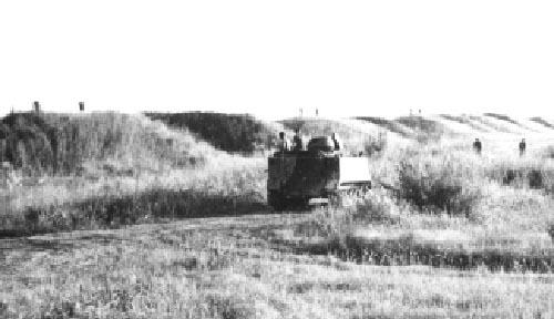 7. Da Nang AB, M113 APC. Ammo Dump Bunkers. 1971. Photo by: unknown.