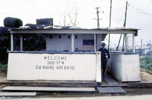 12. Da Nang AB, Front Gate 1968. Photo by: Greg Dunlap, DN, 366th SPS K9, 1968-1969.