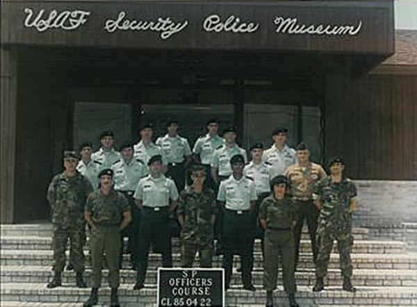 15. Da Nang AB, 366th SPS. SP Officers' Course Class CL 850422. Photo by: Ralph Manganiello Jr. 1966-1967.