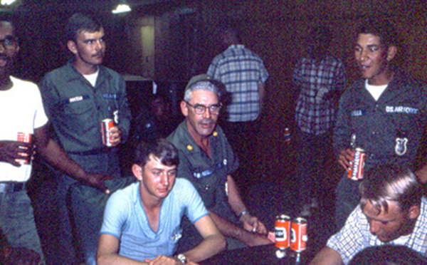24. Da Nang AB, 366th SPS.Day off. Photo by: James Paul Mashburn 1966-1967.