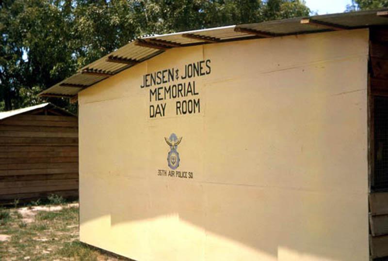 25. Da Nang AB, 366th SPS.Jensen and Jones Memorial Day Room, 35th APS. Photo by: James Paul Mashburn 1966-1967.