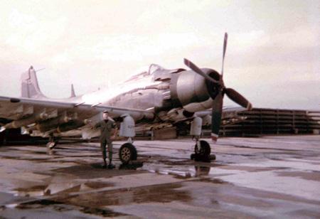22. A-1E, Sandy.