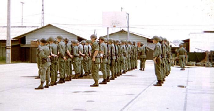2. Da Nang AB, 366th SPS, Guardmount.
