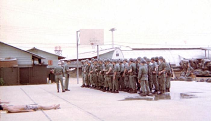 1. Da Nang AB, 366th SPS, Guardmount.