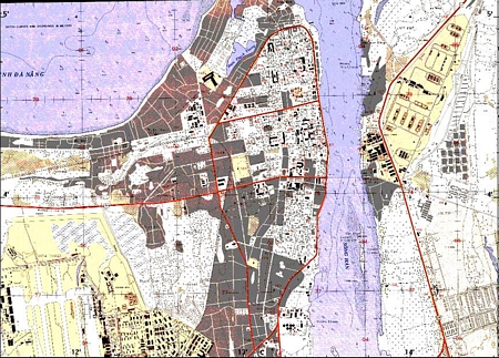 41. Da Nang AB. Map.