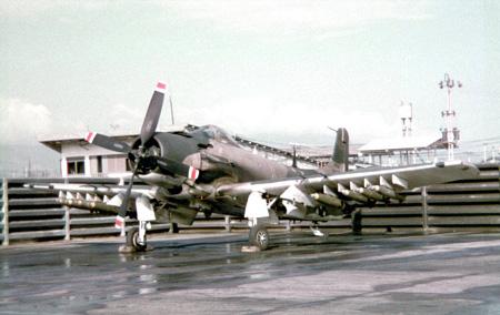 21. A-1E, Sandy.