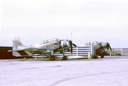 20. A-1E, Sandy.