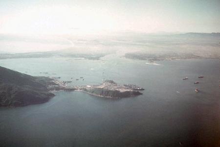 35. Da Nang AB. Tourane Harbor.