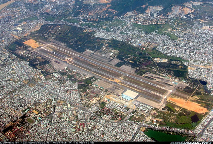 5. Da Nang AB: International Airport, current view. Photo by Vietnam Air Spotters, Airliners.net.