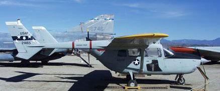 USAF O-2B aircraft
