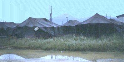 Da Nang, 35th APS K-9 tents!