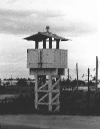 3. Da Nang AB, Perimeter Tower, Alpha-3. Photo by: unknown.