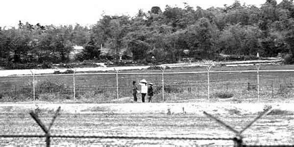 9. Da Nang AB, View from perimeter Tower. Photo by: Bob Knoops.