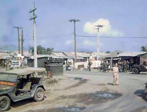 8. Da Nang AB. Freedom Hill 327, Gate control point. (Photographer unknown)