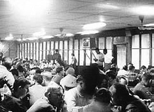 2. Da Nang AB: 366th SPS, Airman's Club. Photo by Ron Westering, 1966-1967.