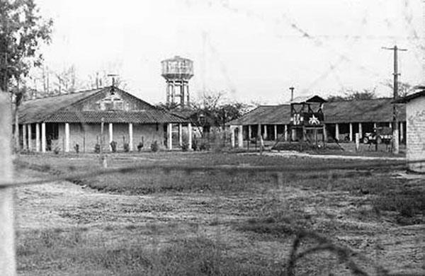 4. Da Nang AB: ARVN ran POW Camp for VC and NVA. Photo by Ron Westering, 1966-1967.