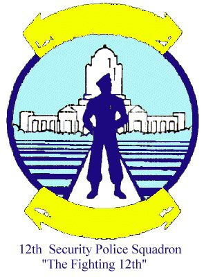 12th Air Police Squadron Emblem, Cam Ranh Bay AB