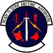 377th Security Police Squadron Emblem, Tan Son Nhut