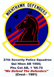 VSPA.com Slideshow: 1991: 37th Security Police Squadron Emblem