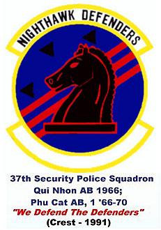 VSPA.com Slideshow: 1991: 37th Security Police Squadron Emblem