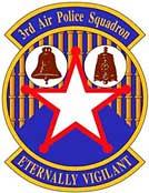 3d Air Police Squadron Emblem, Bien Hoa