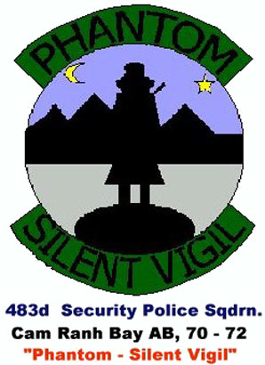 Unofficial: 483rd Security Police Squadron Emblem