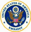 Great Seal of the United States of America Embassy