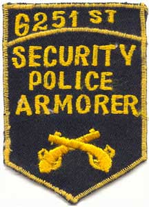 6251st SPS, SECURITY POLICE ARMORER, Bien Hoa AB 8 Jul 1965 (attached 3rd TFW)
