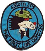 6280th SPS, THE FIRST LINE COYOTES, Takhli RTAFB, 1972-73