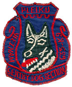 633rd Security Police Squadron Emblem