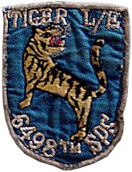 6498th SPS, Tiger Flight, Law Enforcement, Da Nang c1972-73