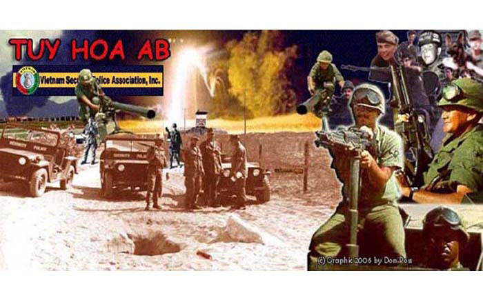 1. Tuy Hoa AB, Heavy Weapons. Composite Photo by: Don Poss.