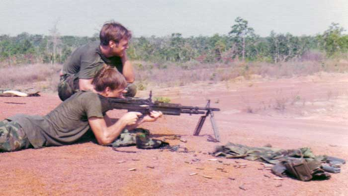 9. NKP RTAFB, Heavy Weapons. 1975. Photo by: Jonathan Faulkner, 56th SPS, NKP.