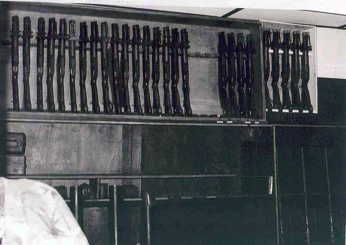 7. NKP RTAFB, Armory. M79 Grenade Launchers. 1971.