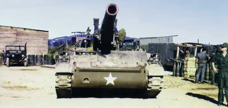 12. Nha Trang AB, U.S. Army: Bigger Guns: Blackhawk III (front view). 1968-1969. Photo by: Bruce Thompson, Randy Vuletich, NT, 14th SPS. 1968; 1969.