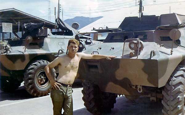 1. Nha Trang AB, V100, SAT. Pat Houseworth. 1969. Photo by: Harry Bevan, NT, 14th SPS. 1968-1969.