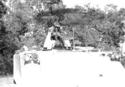 8. Phu Cat AB, V100 50cal. 1967-1968. Photo by: Grady Meeks, NKP, 56th SPS; PC, 37th SPS, 1967-1968; 1969-1970.