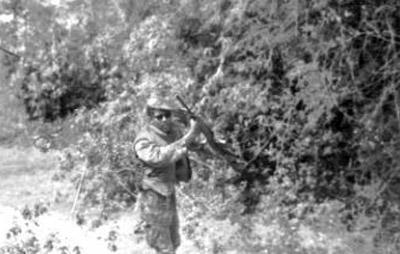 7. Phu Cat AB, Left: M16 (?). 1967-1968. Photo by: Grady Meeks, NKP, 56th SPS; PC, 37th SPS, 1967-1968; 1969-1970.