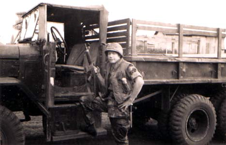 14. Pleiku AB, K-9 NCOIC William McGee, posting Duce'n Half. 1969-1970. Photo by: William McGee, LM 249, PK, 633rd SPS K9, 1969-1970.