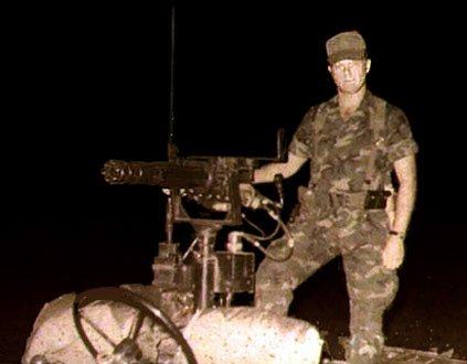 1. Phan Rang AB: QRT Jeep, Gatlin Gun. 1970-1971. Photo by: Paul Keller, UB, 8th SPS; PR, 35th SPS, 1966-1967; 1970-1971.