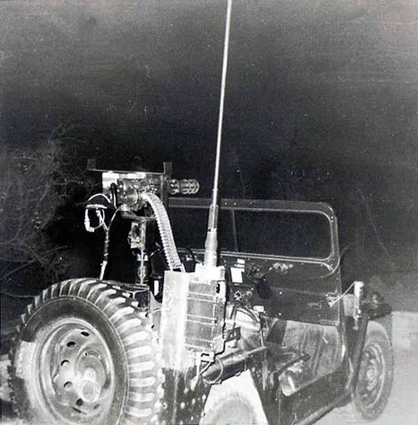 3. Phan Rang AB: QRT Gatlin Gun. 1970. Photo by: Phil Sperflage. 1970.