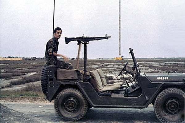 1. Tan My, Loran Station. QRT M60 Jeep. Photo by: Michael Douglas, DN, 366th SPS; DET/TMY, 1971-1972.
