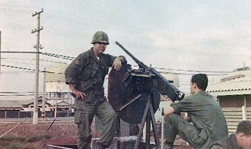 19. Tan Son Nhut AB, 377th SPS Special Weapoons Unit Convoy. 1968. Photo by: Larry Blades, TSN, 377th SPS, 1967-1968.
