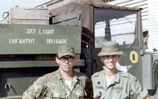 15. Tan Son Nhut AB, SP Quad-50 Truck. 1967-1968. Photo by: David Dowdell, LM 144, TSN, 377th SPS; DET 1/621st TCS/SP VT, 1967-1968.