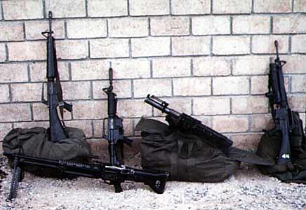 8. Tuy Hoa AB, QRT Weapons. Photo by: Domenic Sebben, NT, 14th SPS; TUY, 31st SPS, 1969-1970.