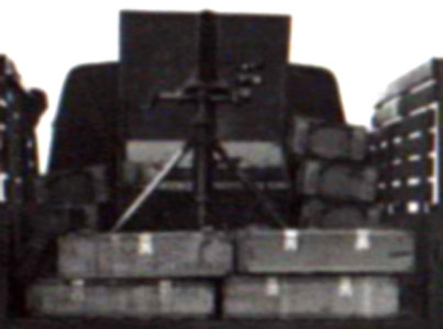 16. Tuy Hoa AB, SP 81mm Mortar Truck (close up). Photo by: Sheperd,TUY, 31st SPS.