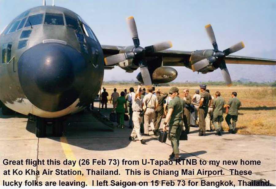 Ko Kha Air Station: C-130.